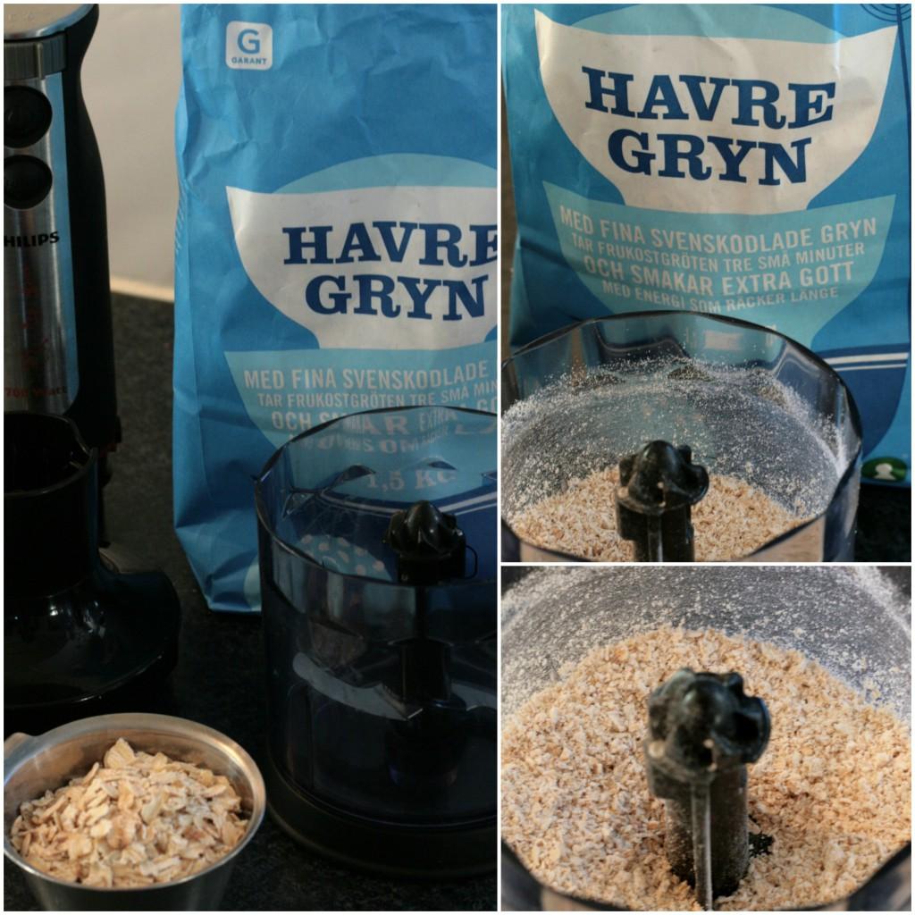Havremjöl, ett glutenfritt alternativ