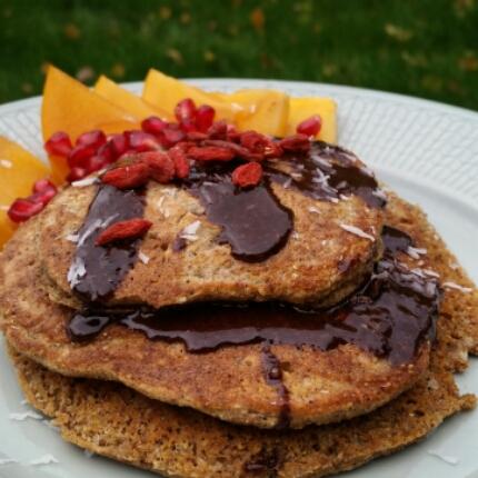 American pancakes på bovete