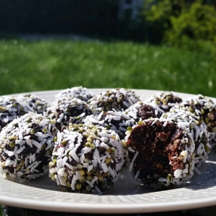 Choklad- & lakritsbollar