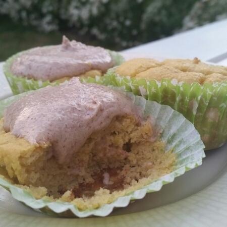 Muffins med banan & mango