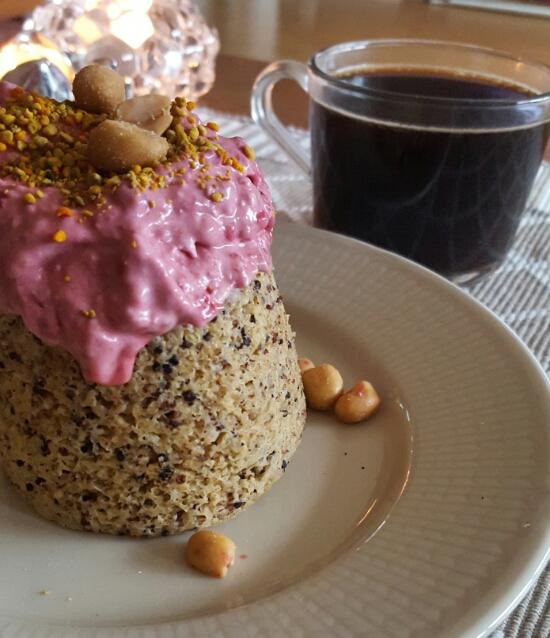 Mugcake med quinoa