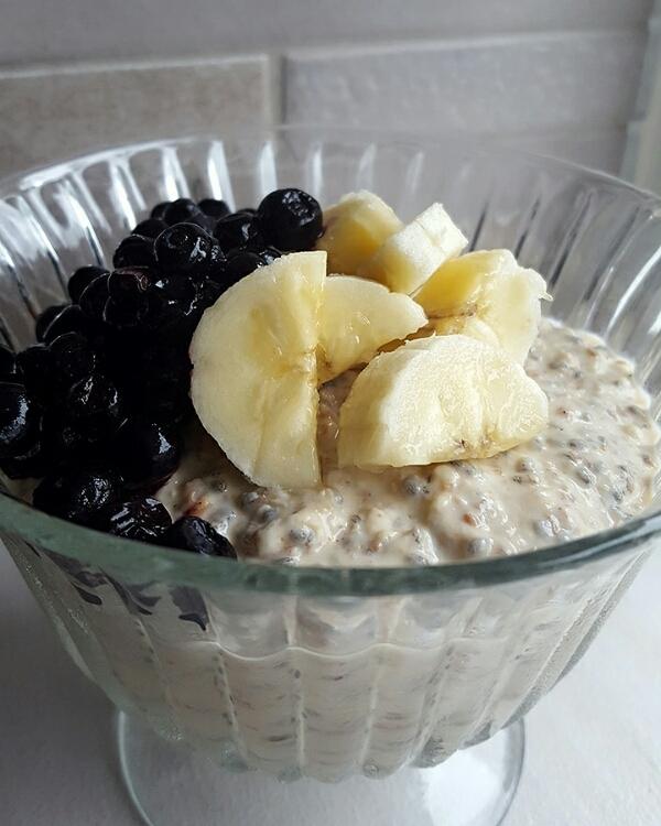 Overnight oats utan mjölk